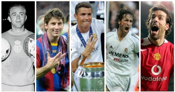 Goleadores Historicos de la Champions