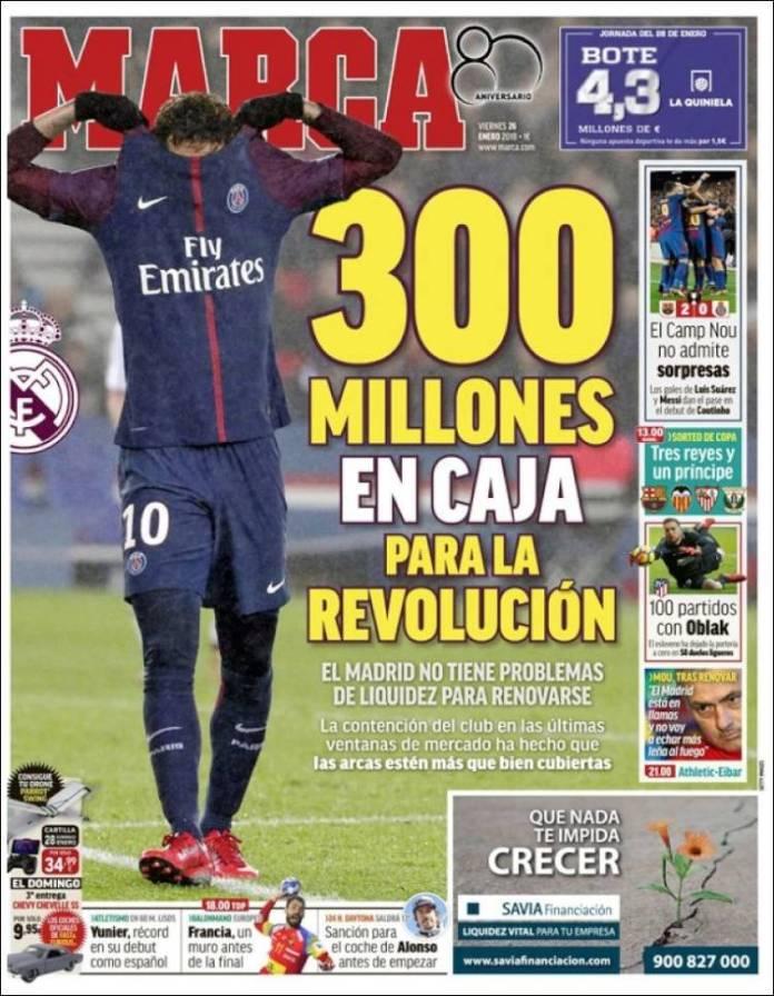 neymar 300 millones real madrid