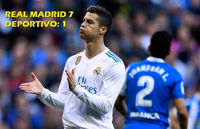 Real Madrid 7-1 Deportivo