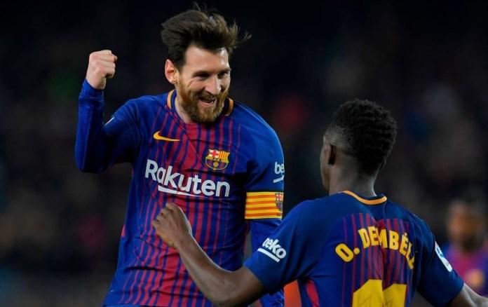 Barcelona 6-1 Girona Jornada 25