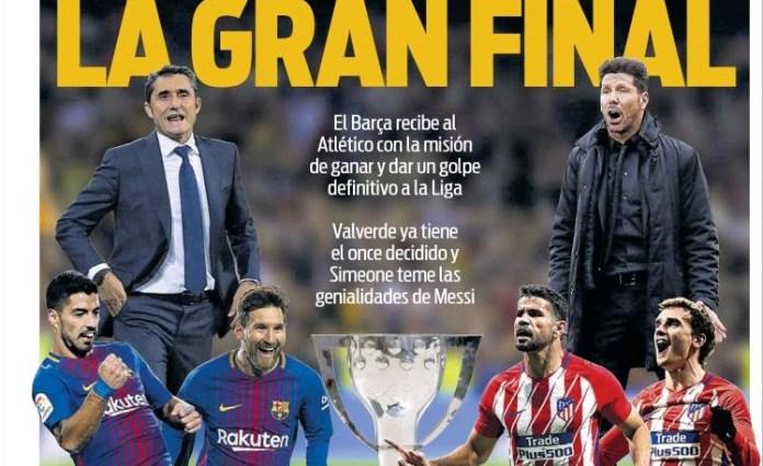 hoy Barça-Atlético