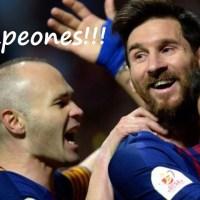 Barcelona Campeón Copa del Rey 2018 | Vence al Sevilla en la final