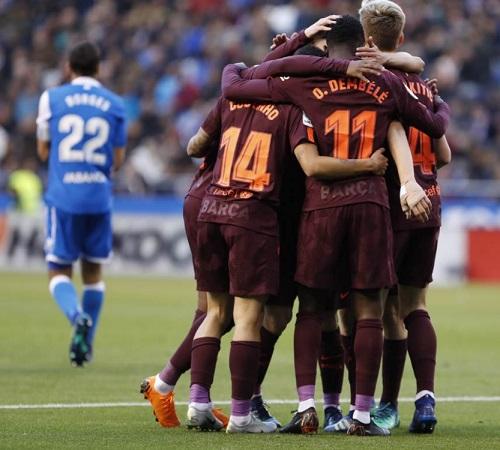 Barcelona Campeón Liga Española 2018 la Liga Santander