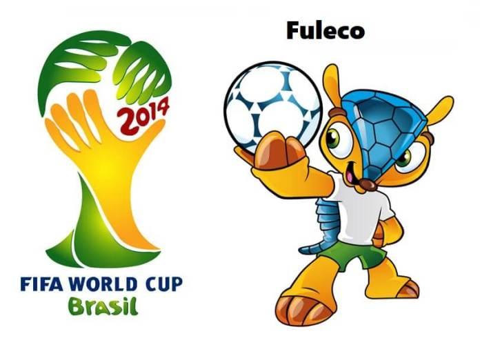 Logo y mascota del Mundial Brasil 2014: Fuleco