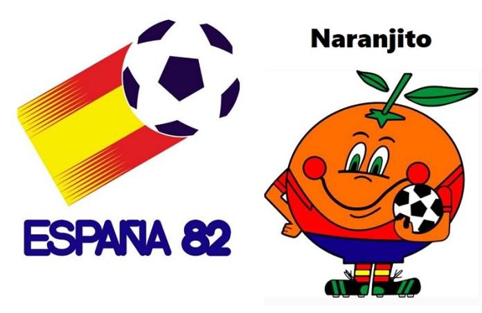 Logo y mascota del Mundial España 1982: Naranjito