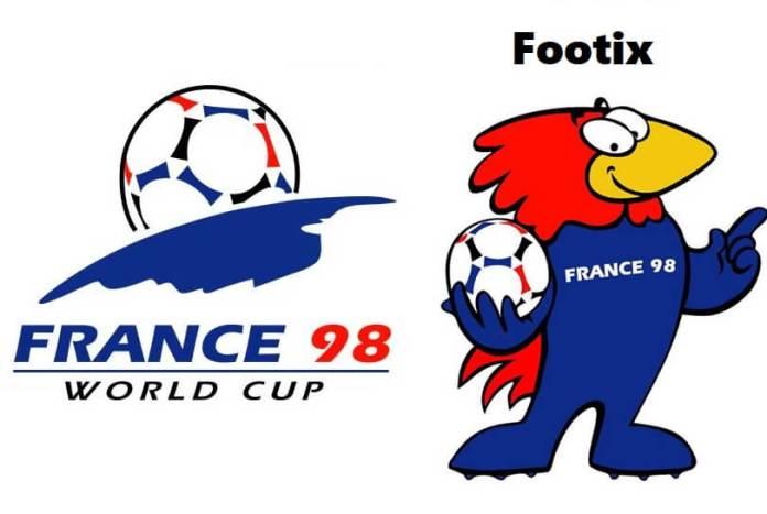 Logo y Mascota del Mundial Francia 1998: Footix
