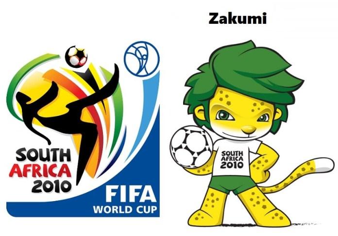 Logo y mascota del Mundial Sudáfrica 2010: Zakumi