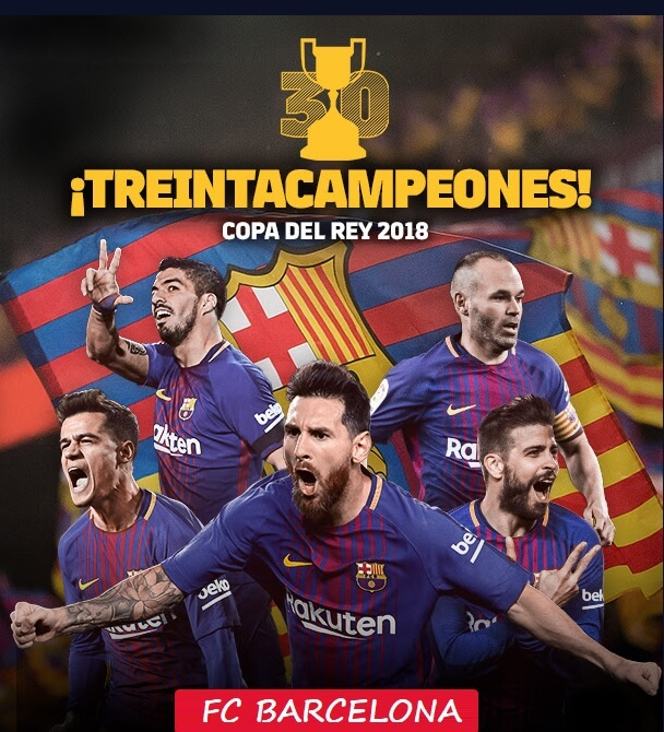 Calendario Copa del Rey 2017-2018