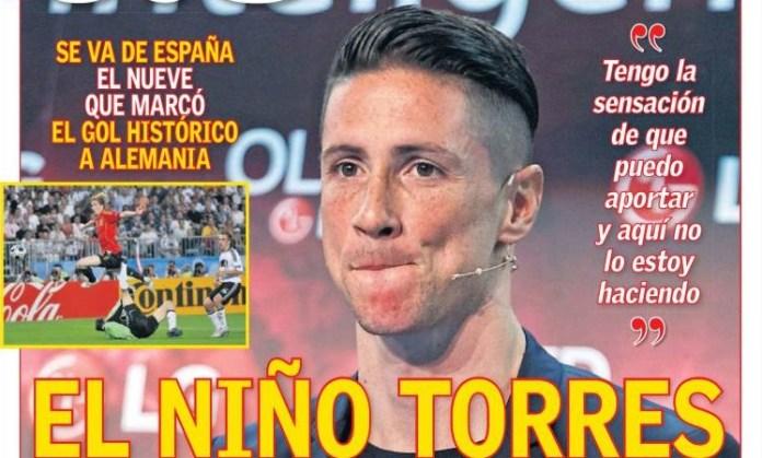 El Niño Torres dice adiós al Atlético