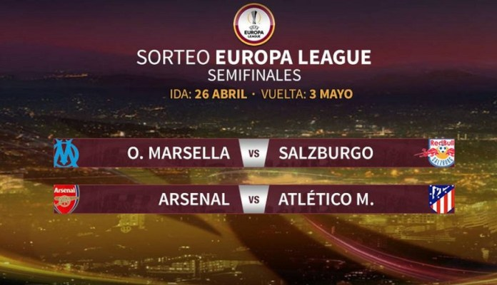 Semifinales Europa League 2018