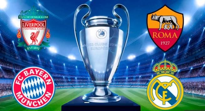 Alineaciones Semifinales Champions 2018 vuelta