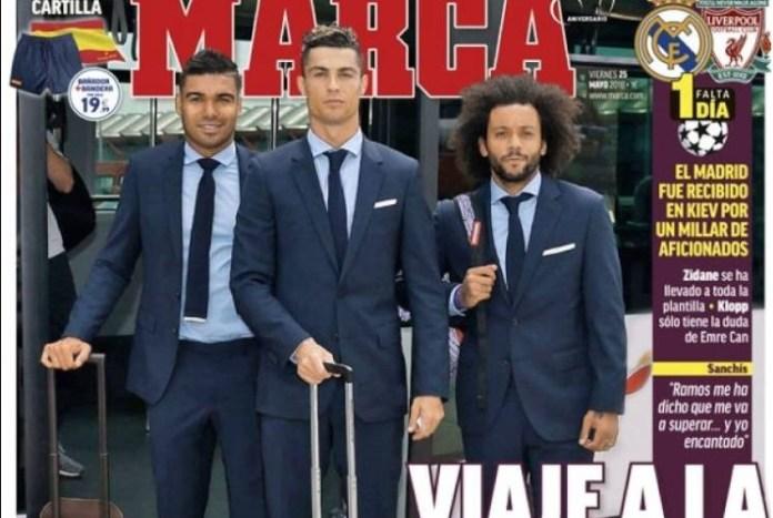 el Madrid viaja a la Gloria
