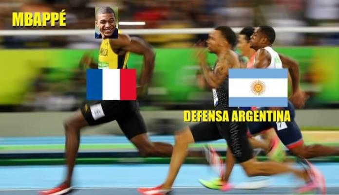 Memes Argentina-Francia Mundial Rusia