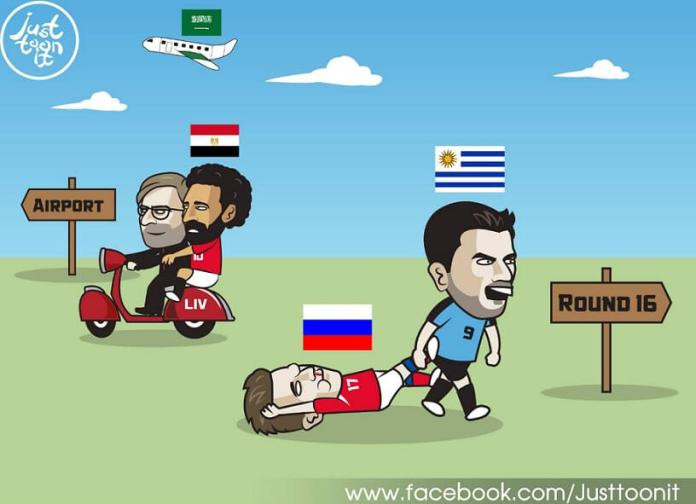 Memes Uruguay-Rusia Mundial