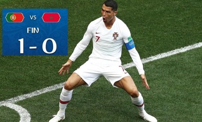 Portugal 1-0 Marruecos Mundial Rusia