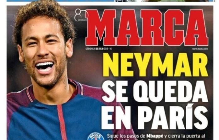 Neymar se queda en París