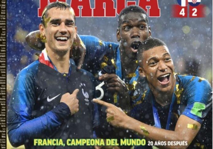 Dos Estrellas, Francia Campeón del Mundo en Moscú
