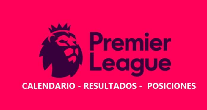 Calendario Premier League 2020