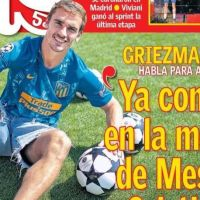 Griezmann quiere el Balón de Oro, Champions Coutinho | Las Portadas