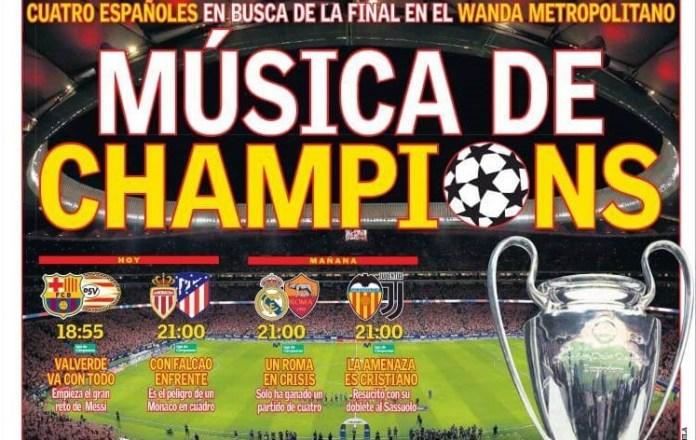 Música de Champions