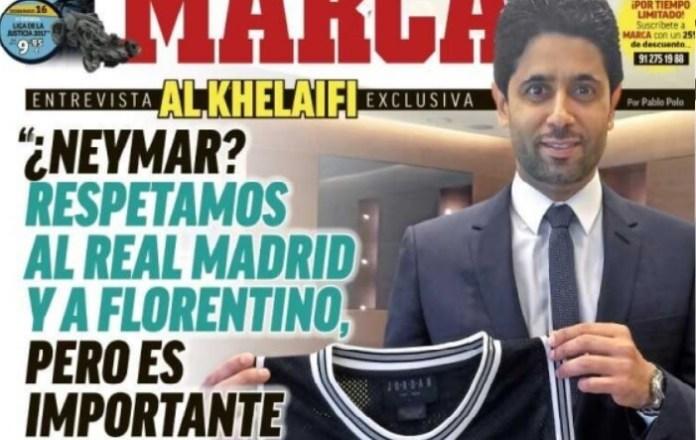 Mensaje del PSG al Madrid