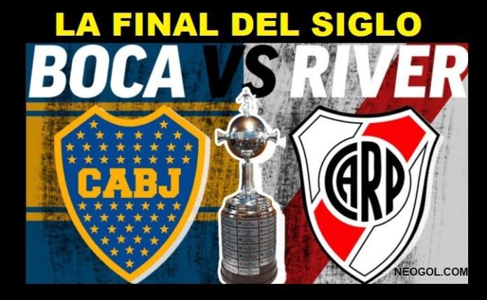 Boca-River Horario Final Libertadores