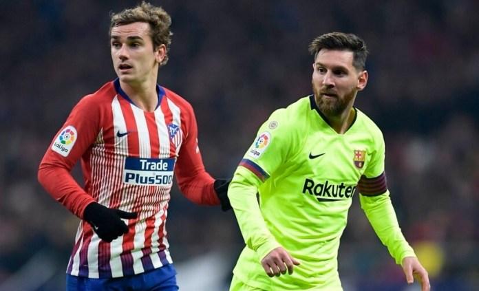 Atlético 1-1 Barcelona Jornada 13