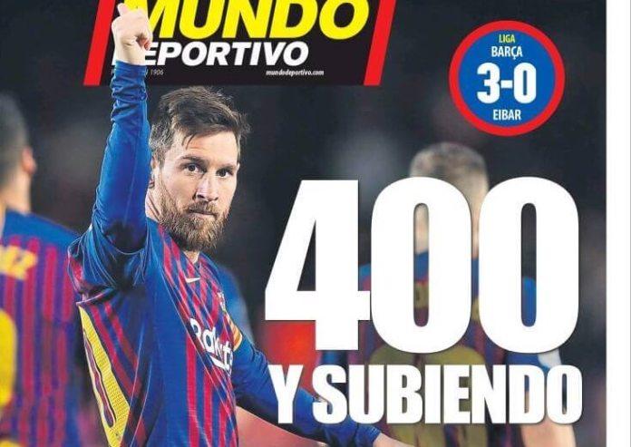 Portadas Deportivas 14/01/2019