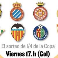 Cuartos Copa del Rey 2019 | Partidos, Horarios y TV