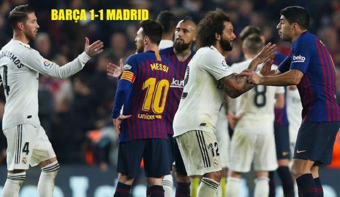 Semifinales Copa 2019 Barça-Madrid