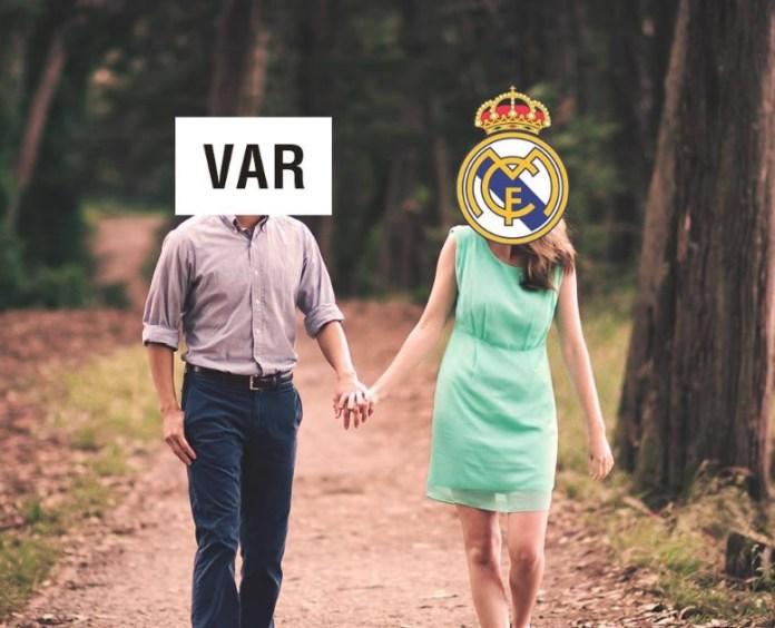 Memes Levante-Real Madrid el var