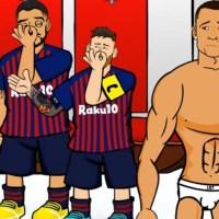 Memes O. Lyon-Barcelona 2019 | Los mejores chistes