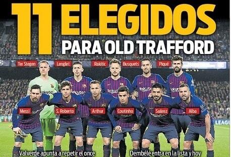 Portadas Deportivas 9/04/2019