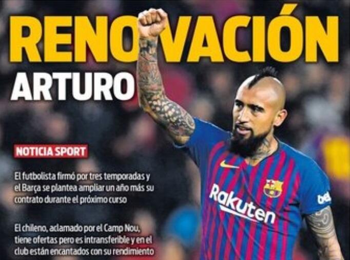 Portadas Deportivas 22/04/2019
