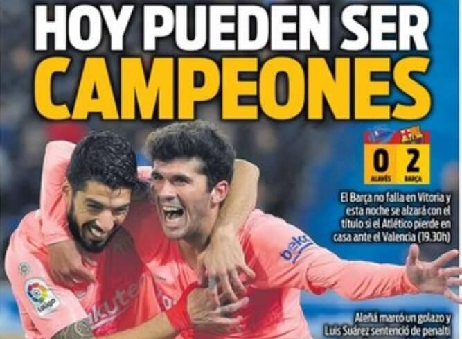 Las Portadas Deportivas 24/04/2019