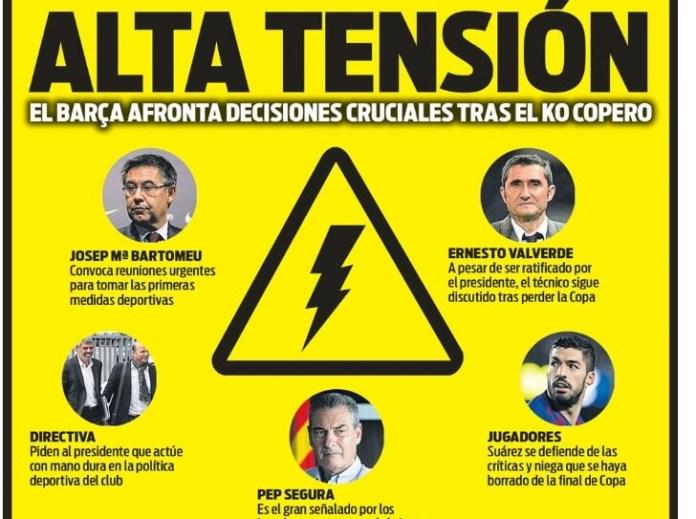 Portadas Deportivas 27/05/2019