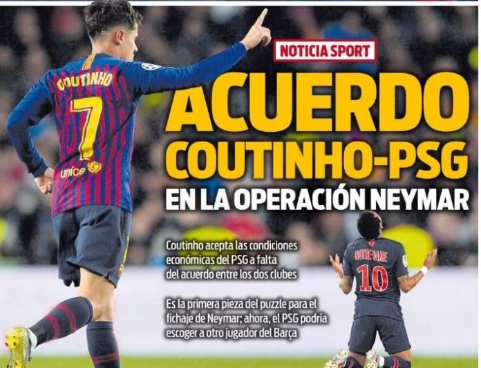 Portadas Deportivas 3/07/2019