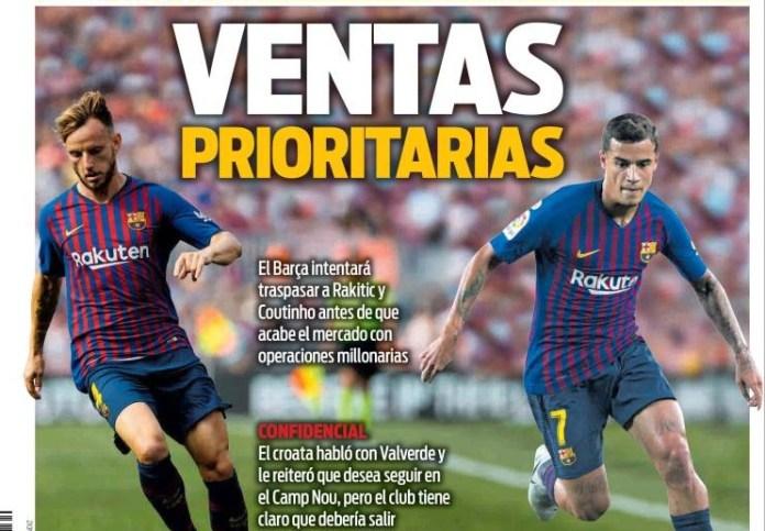 Portadas Deportivas 19/07/2019