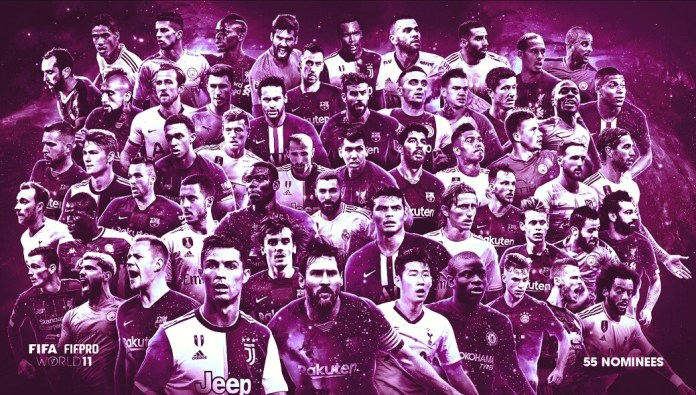 Candidatos FIFPro 2019