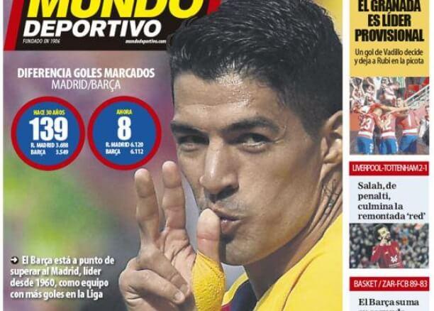 Portadas Deportivas 28/10/2019