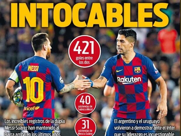 Portadas Deportivas 4/10/2019