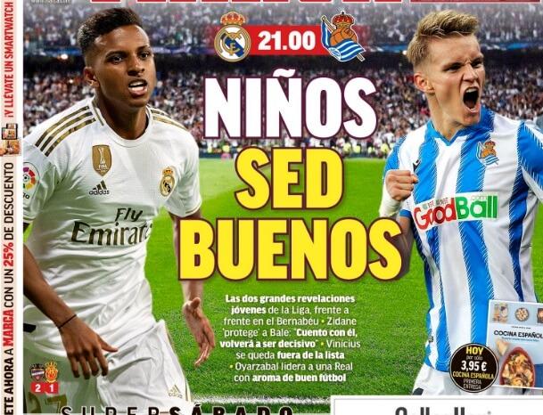Portadas Diarios Deportivos 23/11/2019