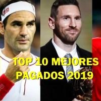 Los 10 Deportistas Mejor Pagados del 2019 según Forbes