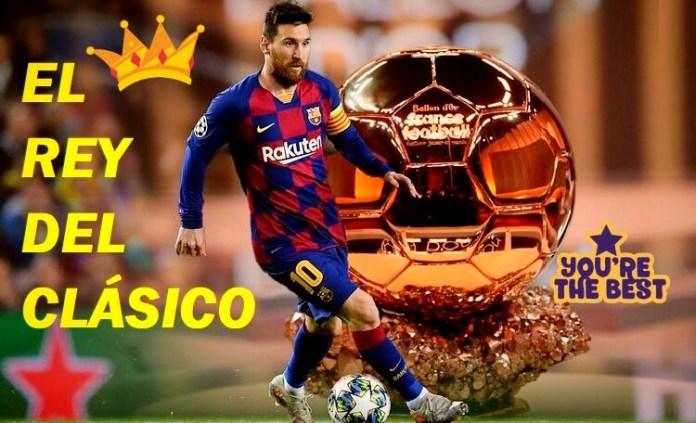 Leo Messi El Rey del Clásico