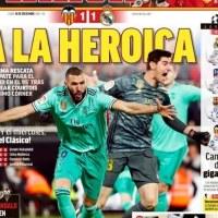 Portadas Diarios Deportivos 16/12/2019 | Marca, As, Sport, Mundo Deportivo
