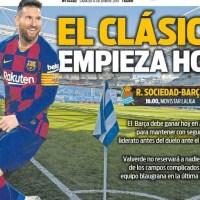 Portadas Diarios Deportivos 14/12/2019 | Marca, As, Sport, Mundo Deportivo