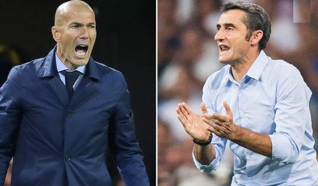 Zidane vs. Valverde