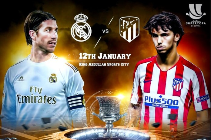 Real Madrid-Atlético Supercopa 2020