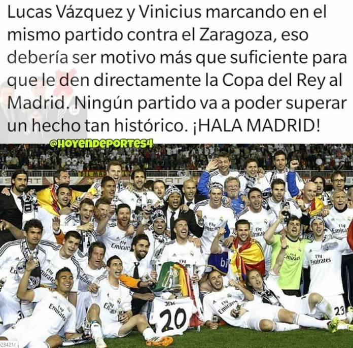 Memes Zaragoza-Real Madrid Octavos Copa del Rey 2020