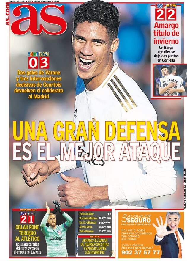 Portada Diario as Hoy